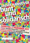 """Aufruf des Bündnisses Hannover """"bunt und solidarisch"""""""